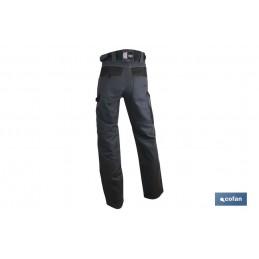 Pantalón de Trabajo Multibolsillos Modelo Quant delante