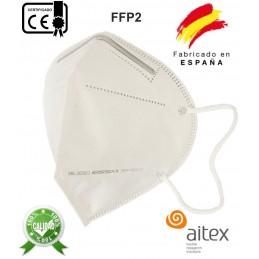 Mascarilla FFP2 NR CE 5 capas Fabricada en España Homologada