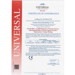 Mascarilla Protección FFP3 NR CE 2163 Certificado
