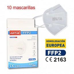 Mascarilla FFP2 NR 5 Capas CE 2163 Homologada