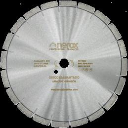 DISCO DIAMANTE LASER H-A 300x NEROX Segmento 12 (Hormigón fresco y asfalto)