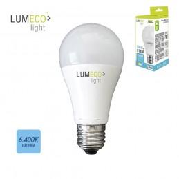 BOMBILLA LED E27 10W 810 LUMENS 6400K LUZ FRIA LUMECO