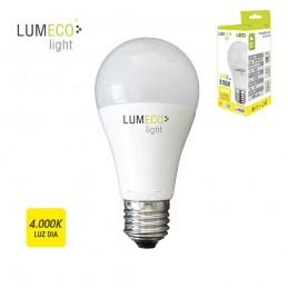 BOMBILLA LED E27 10W 810 LUMENS 4000K LUZ NEUTRA LUMECO
