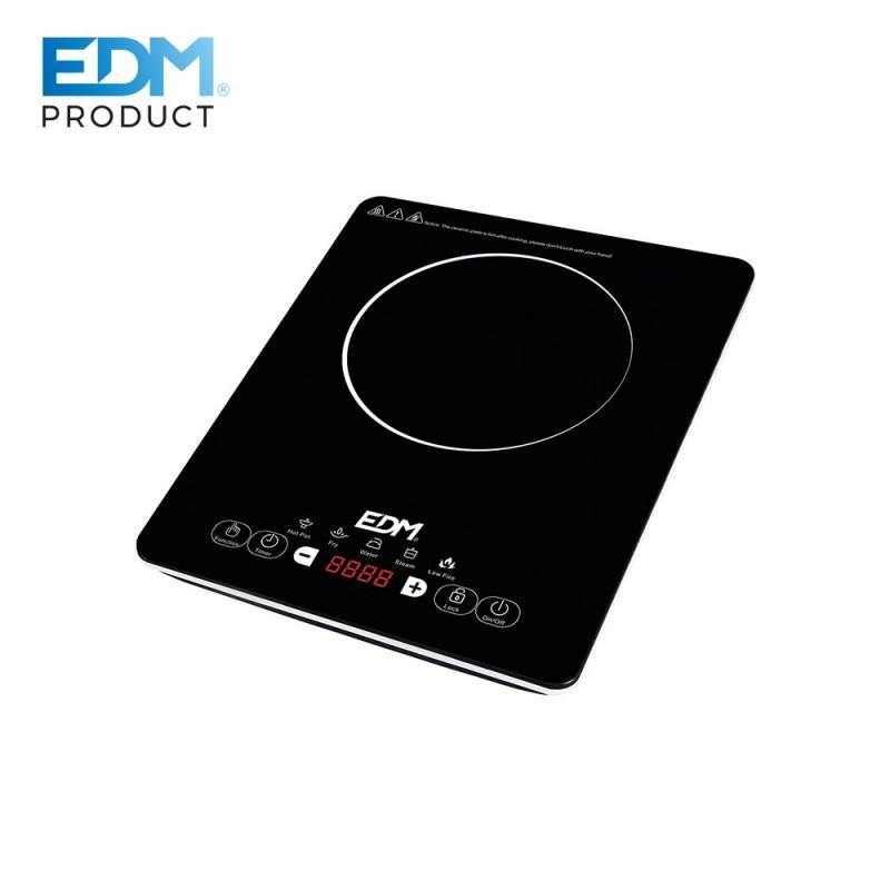 COCINA PORTATIL ELECTRICA DE INDUCCION - 1 FUEGO - 2000W - EDM
