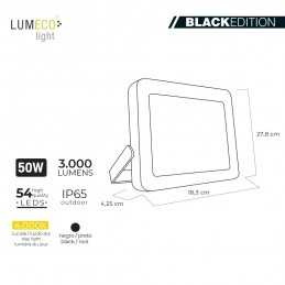Foco Proyector Led 50W 4000K 3000 Lumens LUMECO 3