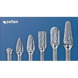 Fresas Rotativas Metal Duro Estuche 10 Unidades Cofan detalle 1