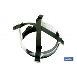 Casco Obra con Regulador (Suspensión Nylon) detalle