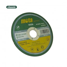 Disco de Corte Acero Inox Amoladora Angular 115/1.0/22.23mm D1110