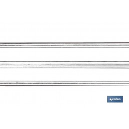 Pistola para Silicona y Resina (Taco químico) Cofan detalle barras