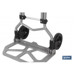 Carretilla Almacén Plegable de Aluminio Cofan detalle 3