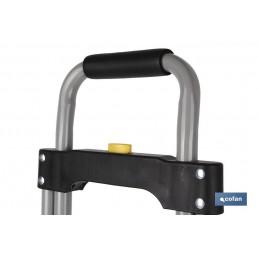 Carretilla Almacén Plegable de Aluminio Cofan detalle 4