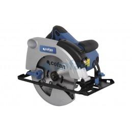 Sierra circular 1500W 64mm profundidad Cofan detalle 1