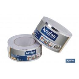 Cinta de Aluminio 30 Micras y Ancho 50 ó 75mm