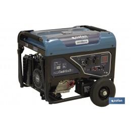 Generador 389CC 5,5 KVA con motor 4 tiempos Cofan