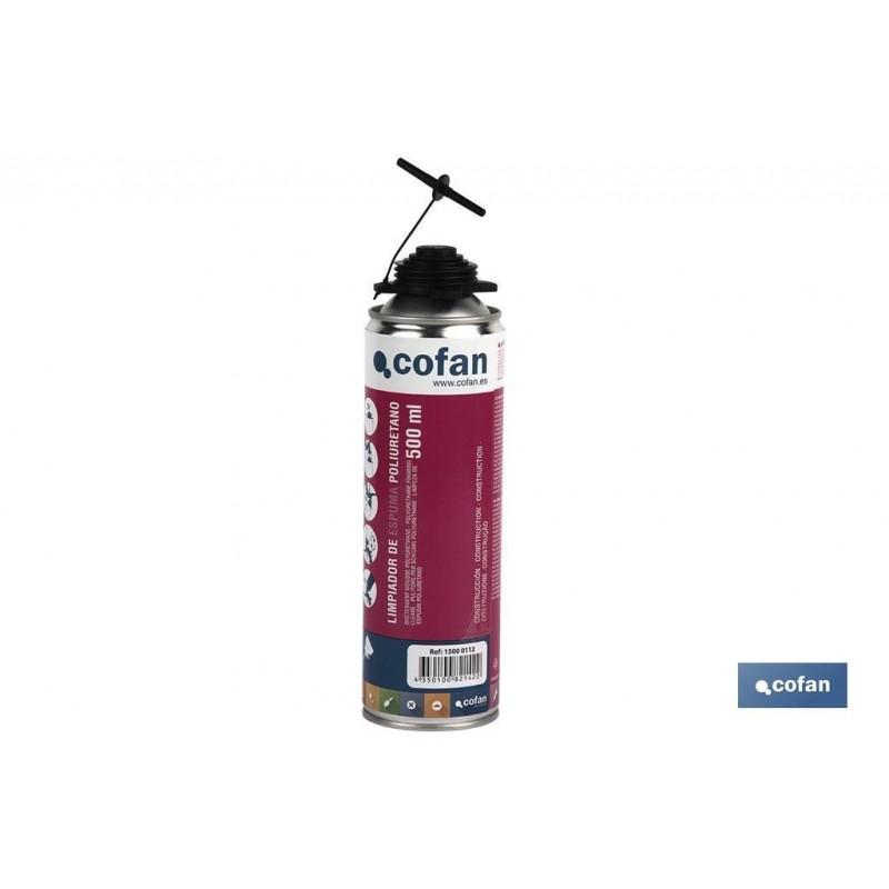 Limpiador de Espuma de Poliuretano 500 ml Cofan