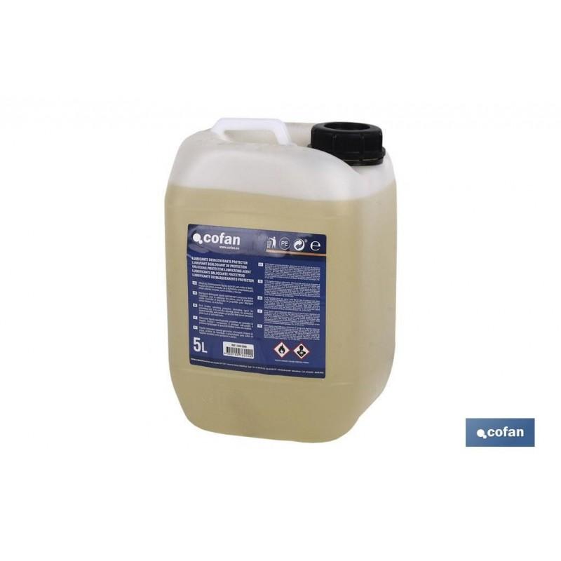 Aceite Lubricante Desbloqueante Aflojatodo Protector Cofan 5 Litros