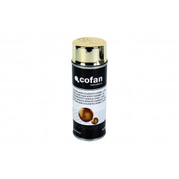 Pintura acrílica Efecto Cromo en spray 400ml Cofan color oro