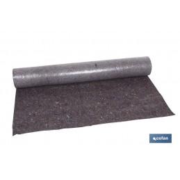 Manta cubre suelos pintor + plástico (1metro * 25 metros)