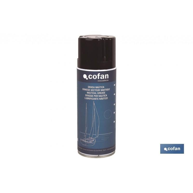 Grasa Náutica Hidrorepelente Spray 400 ml Cofan