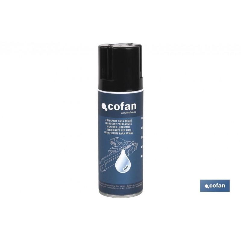 Aceite Lubricante para Armas Spray 200 ml Cofan