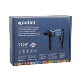Taladro percutor 910W Cofan caja