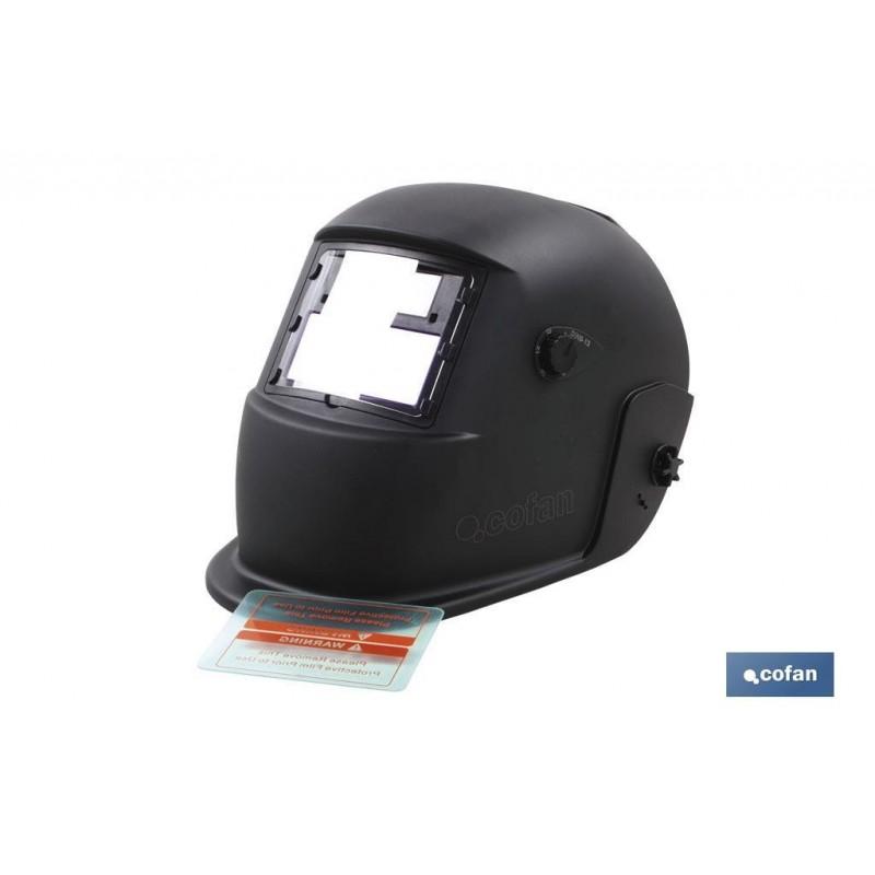 Máscara de Soldar Automática con Pantalla Energía Solar