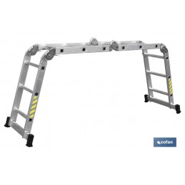 Escalera multiusos 4 x 3 de Aluminio Cofan