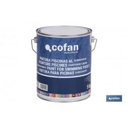 Pintura para Piscinas al CLOROCAUCHO 5Kg cofan