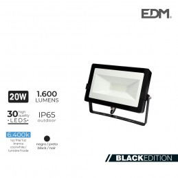 Foco Proyector Led 20W 6400K 1600 Lumens LUMECO
