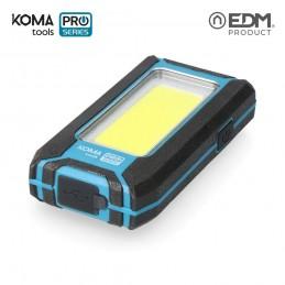 Linterna de Trabajo Recargable Led USB 500 Lumen 8 W KOMA TOOLS PRO SERIES vista