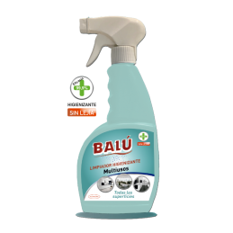 Limpiador Higienizante Multiusos BALU 750 ml con Pistola eficacia 99,9