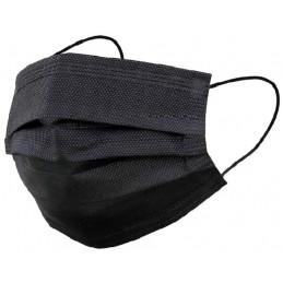 Mascarilla Higiénica 3 Capas Negra