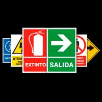 Comprar señalización de seguridad, cartelería, rotativos, espejos de seguridad al mejor precio. Somos mayoristas.